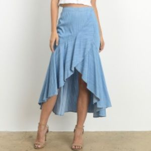 The edge maxi skirt